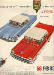 1958 Ford Thunderbird Car AD