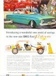 1960 Ford Falcon Car Promo AD GREAT ART