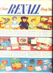 Click here to enlarge image and see more about item 8177: Rexall Drug AD VINTAGE TOYS - GIFTS XMAS DOLL