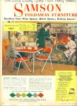 Click here to enlarge image and see more about item 8778: 1953 - Samson foldaway furniture ad