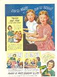 Click here to enlarge image and see more about item DEE1014: 1946 RINSO GIRLS  PIANO Singing Detergent Ad