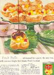 1959 DEL-MONTE FRUIT COCKTAIL FRUIT PUFFS AD