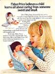 Click here to enlarge image and see more about item DEE1077: 1981 FISHER-PRICE BABY ANN DOLL AD