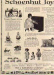 Click to view larger image of 1926 Schoenhut Wood Doll Circus Toy AD (Image2)