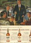 Click here to enlarge image and see more about item DS99: 1959 Alex Ross Duck Decoy Whiskey AD