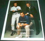 GOT MILK? Joe TOrre, Jeff Fisher, Pat RILEY