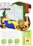 1948 Levolor  blinds AD DON MILSOP ART LADY