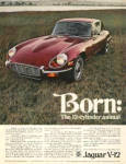 Click here to enlarge image and see more about item JA71: 1971 Jaguar V-12 British Leyland Car AD