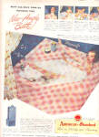 Click here to enlarge image and see more about item K021303Y: 1948 American Standard Nude Family Bathing Ad