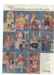 Click here to enlarge image and see more about item K021703E: 1979 Vogue Doll Ginny Plus Doll Outfits Ad