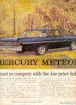 Click here to enlarge image and see more about item K022003Z: 1961 Mercury Meteor Car Ad
