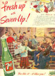 1949 Seven-Up Square Dance Ad