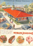 1957 Howard Johnsons Restaurants Lodge Ad