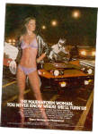 1981 MAIDENFORM Bra Race Car Ad