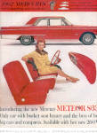 Click here to enlarge image and see more about item K022703JK: 1962 Mercury Meteor S-33 Car Ad