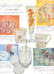 Click here to enlarge image and see more about item K031003N: 1959 Galaxy Of Gifts Libbey Glasses Ad