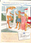 1945 Fieldcrest Towels Lifeguard Kids Ad