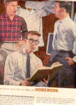 1958 Arrow Shirts Young School Boys Ad