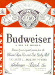 1969 Budweiser King Of Beers Ad