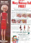 Click here to enlarge image and see more about item K032903E: 1965 Mary Makeup Doll Offer Ad