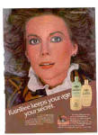 Click here to enlarge image and see more about item K051403K: 1981 Natalie Wood Raintree Beauty Lotion Ad