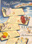 1947 G.E. Electric Light Bulbs Ad