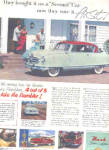 Click here to enlarge image and see more about item K052903K: 1952 Rambler Nash Golden Family Car Ad