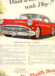 1958 Big Thrills Red Buick Car Ad