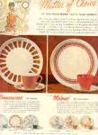 Click here to enlarge image and see more about item K071003E: 1963 Melmac Royalon Dinnerware Ad