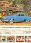 1950 STUDEBAKER Car Hunting Lodge AD