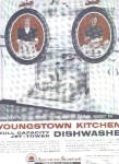 Click here to enlarge image and see more about item K101003B: 1958 Youngstown Kitchen Dishwasher Ad