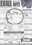 Click here to enlarge image and see more about item K101403AZ: 1951 Amos N Andy Rexall Drug Stores Ad