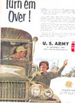 Click here to enlarge image and see more about item K101403DW: 1951 U.S. Army Sergaent Truck Convoy Ad