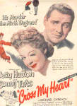 1946 Betty Hutton Cross My Heart Movie Ad