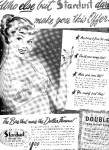 1950 Lady In Stardust Bra Ad