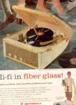 1957 Motorola Hi Fi  CALYPSO 3H24 Phono Ad