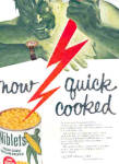 1957 Green Gaint Niblets Corn Ad