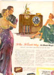 1950 Zenith Television Radio Black Magic Ad