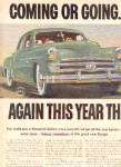 Click to view larger image of 1950 2 Page Dodge Car Coming And Going Ad (Image2)
