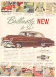 Click here to enlarge image and see more about item K122002Z: 1952 Fine Car Chevrolet Ad