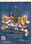 1950 Avon Cosmetics CHRISTMAS Holiday Ad