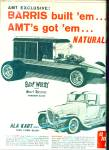 Click here to enlarge image and see more about item K387: 1965 AMT Surf Woody and Ala Kart Ad
