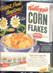 Click here to enlarge image and see more about item K748: 1949 Kellogg's Corn Flakes Daisy Ad
