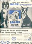 1951 Kellogs Gro-Pup Dog Food Boxer Ad