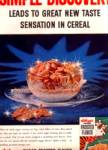 Click here to enlarge image and see more about item KDSH104: 1956 Green Box Kelloggs Frosted Flakes Ad