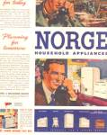 Click here to enlarge image and see more about item KKA98: 1944 Norge Wartime WWII Appliance AD