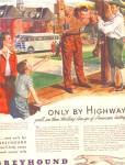 1946 Greyhound Bus American HIstory Ad