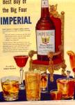 Click here to enlarge image and see more about item KLH1014: 1954 Imperial Hiram Walkers Whiskey Ad