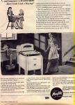 Click here to enlarge image and see more about item KMW90: 1945 Maytag Washer Woman Little Girl Ad