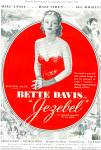 Click here to enlarge image and see more about item MAX004: 1938 Bette Davis in JEZEBEL Movie Ad